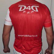 D4D new shirt back