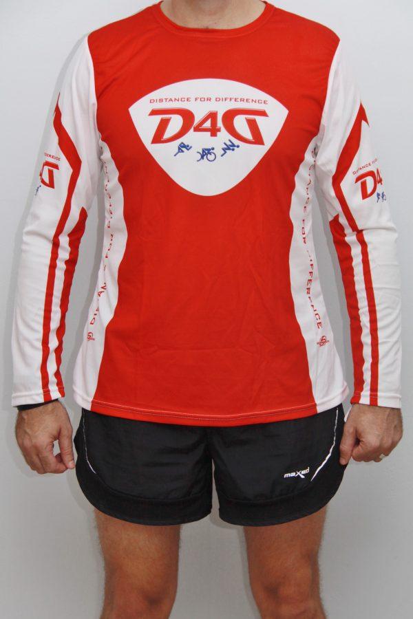 D4D running long sleeve