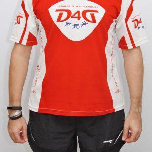 D4D running short sleeve