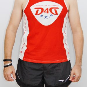 D4D running sleeveless