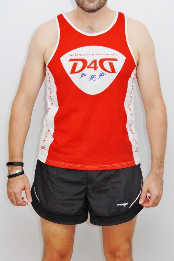 D4D running sleeveless